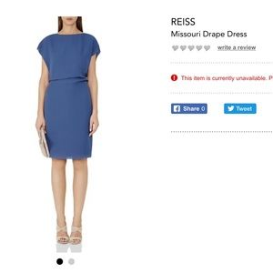 Reiss Missouri Dress